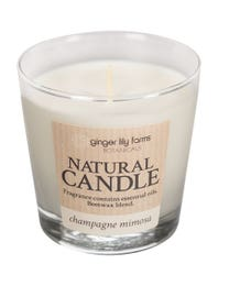 Ginger Lily Farms Botanicals Natural Candle Champagne Mimosa