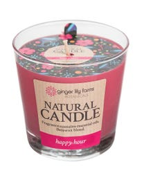 Ginger Lily Farms Botanicals Natural Candle Happy Hour