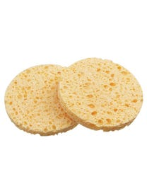 """ForPro Cellulose Round Sponge Yellow 3"""" 50-Count"""