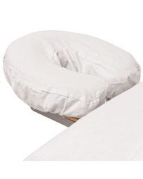 Premium Flannel Massage Face Rest Cover White
