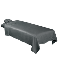 Premium Microfiber 3-Piece Massage Sheet Set Cool Grey