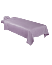 Premium Microfiber 3-Piece Massage Sheet Set Lavender