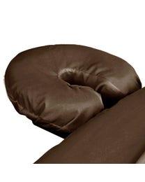 Premium Microfiber Massage Face Rest Cover Chocolate
