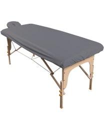 ForPro Waterproof Spa Treatment Massage Sheet Set Cool Grey
