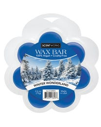 Winter Wonderland Wax Bar, Wickless Candle Tart Warmer Wax, 100% Vegan and Cruelty-Free, 2.6 Ounce Bar