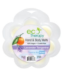 Paraffin Wax Works EcoTherapy Hand & Body Wax Melts Lavender Tangerine 2.6 Ounces