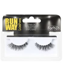 Runway Human Strip Lashes B15a Black 1-pr.