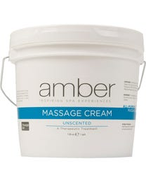 Massage Cream Gallon - Unscented