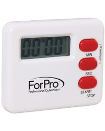 ForPro Digital Timer White