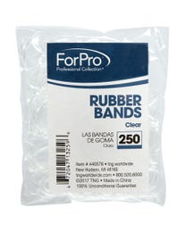 Rubber Bands Clear 250-ct.