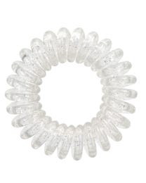 ForPro Hair Bobbles Icy Clear 3-Count