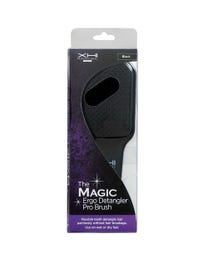 The Magic Ergo Detangler Pro Brush Black