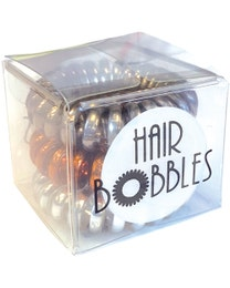 ForPro Hair Bobbles Heavy Metal 3-Count