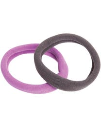 ForPro Comfy Ponytail Holders Assorted Colors 12-Count