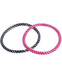 ForPro Comfy Hair Elastics Assorted Colors 25-Count