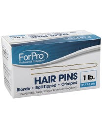 "ForPro Hair Pins Blonde 3"" L 1 Lb."