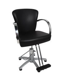 Louve Chair 5 Star Matte T-Footrest 150mm