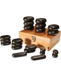 ForPro Basalt Massage Stones 22-Count Set