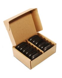 ForPro Basalt Massage Stones Medium 12-Count