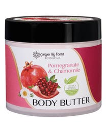 Ginger Lily Farms Botanicals Body Butter Pomegranate & Chamomile 15.5 Ounces