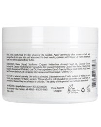 Whipped Body Butter, Herbal Hemp Seed, 7.5 Ounces