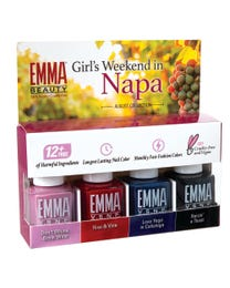 Girl's Weekend in Napa Collection 4 Pack Gift Set, Batch 0820