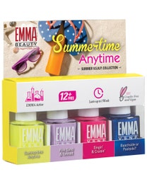 Summertime Anytime Collection Nail Polish 4 Pack