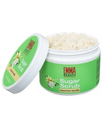 Natural Jasmine Vanilla Sugar Scrub 10 Ounces
