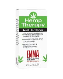 EMMA Beauty Hemp Therapy Nail Hardener .5 Ounces
