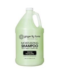 Ginger Lily Farms Botanicals Island Tranquility Moisturizing Shampoo, 100% Vegan, Paraben, Sulfate, Phosphate, Gluten and Cruelty-Free, 1 Gallon