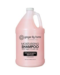 Ginger Lily Farms Botanicals Champagne Mimosa Moisturizing Shampoo, 100% Vegan, Paraben, Sulfate, Phosphate, Gluten and Cruelty-Free, 1 Gallon