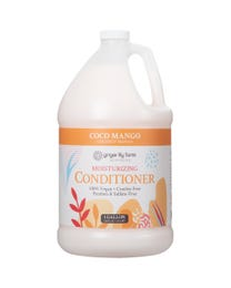 Ginger Lily Farms Botanicals Coco Mango Moisturizing Conditioner, 100% Vegan, Paraben, Sulfate, Phosphate, Gluten and Cruelty-Free, 1 Gallon