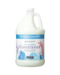 Ginger Lily Farms Botanicals Moisturizing Conditioner Island Tranquility, 100% Vegan, Paraben, Sulfate, Phosphate, Gluten and Cruelty-Free, 1 Gallon