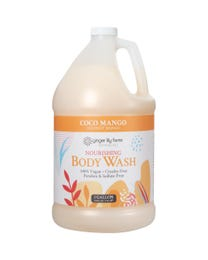 Ginger Lily Farms Botanicals Coco Mango Nourishing Body Wash, Softens, Nourishes and Cleans Skin, Natural Spa Quality, 100% Vegan and Cruelty-Free, 1 Gallon