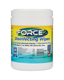 Force2 Disinfecting Wipes 220-Count