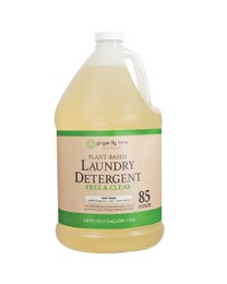 Plant-Based Liquid Laundry Detergent, Fragrance-Free, 85 Loads, 1 Gallon