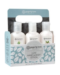 Ginger Lily Farms Botanicals Luxe Hand & Body Lotion Six Pack Gift Set