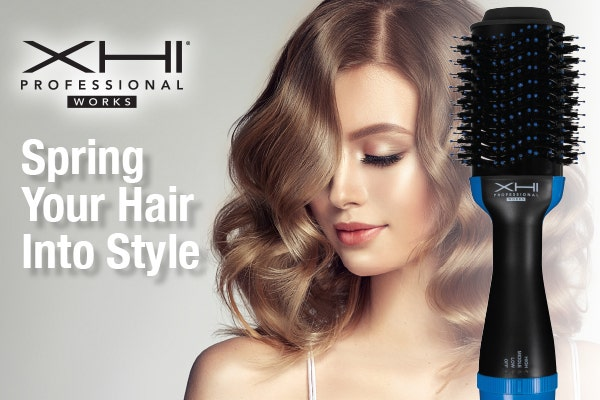 Spring Your Hair Into Style with XHI All-in-One Hair Dryer & Volumizer