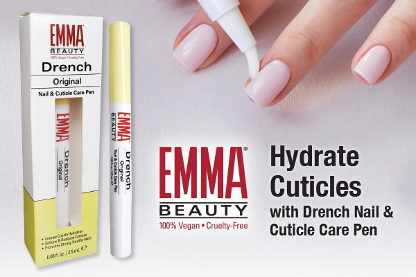 Hydrate Cuticles with EMMA Beauty Drench Nail & Cuticle Care Pen