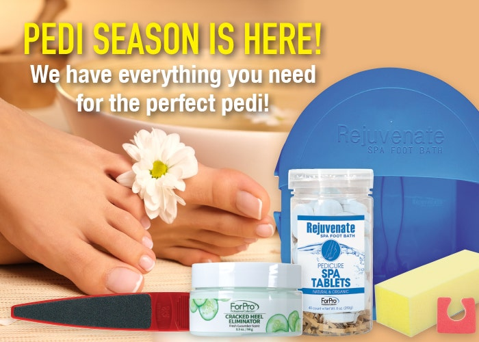 Pedi Season is Here! We have everything you need for the perfect pedi!
