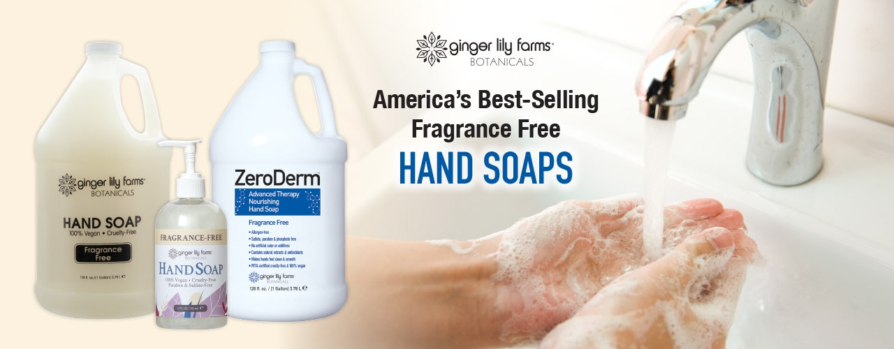 America's Best-Selling Fragrance Free Hand Soaps