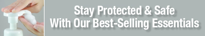 Stay Protected & Safe With Our Best-Selling Essentials